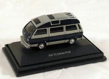 SCHUCO - VW Bus T3 Dehler Profi - Camper - blau-grau - 26143 - 1:87 - Neu