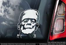 Frankenstein - Car Window Sticker - Peeper Monster Sign Classic Horror Movie Art