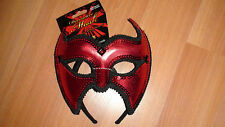 DECORATIVE HALLOWEEN  RED  MASK FOR ADULTS