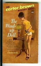THE WIND UP DOLL by Carter Brown, rare US Signet crime noir gga pulp vintage pb