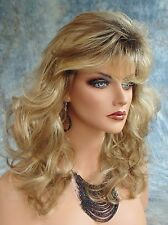 Becky Wig CUTE WAVY STYLE ROOTED BLOND RH1226RT4 CHARMING DAINTY CURLS *