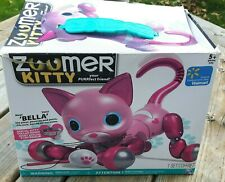 Pink Zoomer Kitty Spin master Zoomer Kitty Preowned in Box with manual and cat t