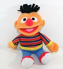 Sesame Street Ernie Plush. 12 inch. 2009 Mattel Stuffed Doll Lovey toy