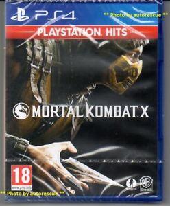 Mortal Kombat X  'New & Sealed'   *PS4*