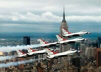 F-16 Thunderbirds PHOTO New York Empire State Building US Air Force USAF Jets