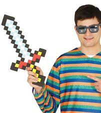 enfants garçon filles Pixel sword JEUX Cosplay Costume Déguisement Arme