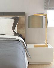 New Listingimego Wood Side Table Bedside Lamp New