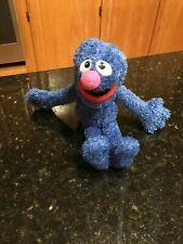 "Sesame Street Grover Stuffed Animal Plush Toy Blue 10"""