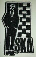 """SKA Reggae Punk Music Patch Embroidered Applique~4"""" x 2 1/8""""~US Seller~FREE Mail"""