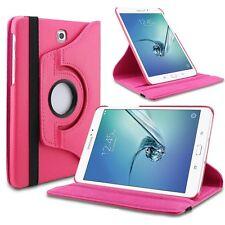 Housse 360 Degré rose étui pour Samsung Galaxy Tab S3 9.7 T820 T825 coque