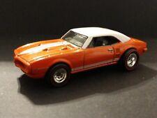 Hot Wheels Boulevard 1967 Pontiac Firebird 400 Orange with Redline Rubber Tires