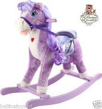 Cavallo a dondolo pony lilla con suoni
