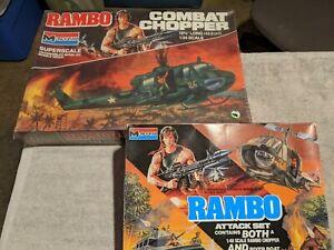 Lot 386 - Rambo Combat Chipper and Attack Set - 1/24 Scale - Monogram