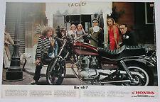 Advert Pubblicità 1980 HONDA CM 400 T CUSTOM