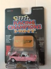 FORD 1956 PINK THUNDERBIRD RACING CHAMPIONS MINT, 1.56 NEW DIE CAST