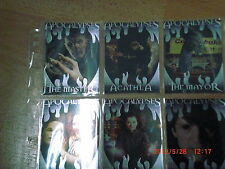 Buffy Memories chase set AP1-6  + 9er pocket pages