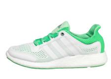 adidas PureBoost Chill Ladies UK 6 EU White & Green Running Shoes Trainers
