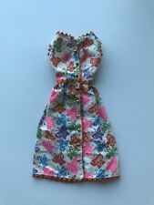 Vintage Mattel Barbie Doll Clothes Outfit #1628 BRUNCH TIME Butterfly Dress