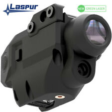 Laspur Sub Compact Green Laser Sight with Flashlight Combo Rechargeable Battery