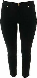IMAN Global Chic 360 Slim Skinny Jean BLACK 20W Avg NEW 703-291