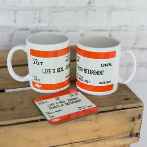 Personalised Retirement Gift Print Coffee Tea Mug Birthday Gift Idea Present
