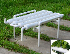 4 Rows Hydroponic Site Grow Kit Pvc Pipe 36 Plants Vegetable Soilless Culture