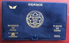 FRANCE -  Superbe  Coffret FDC  1979 Ailes dorées -