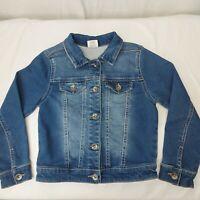 Sanoma denim blue Jean unisex Jacket child Size 6X Medium Blue wash