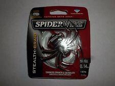 spiderwire stealth braid 0.14 mm 137M 10,2 kg neuf
