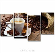 Quadro bar Caffè 8 - QUADRI MODERNI BAR 152x78 STAMPA TELA ARREDAMENTO CUCINA