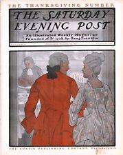 Saturday Evening Post  -  Full Magazine -  No Mailing Label - November 23, 1901