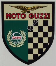 CASTROL MOTO GUZZI -  DECAL STICKER DECAL STICKER.    Z015