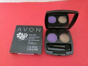Avon LUSCIOUS ORCHID True Color EYESHADOW DUO Eye Shadow New In Box