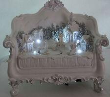 Light up noël canapé belle décoration ornement (piles inc)