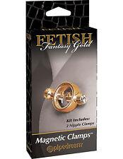 Clip morsetti magnietici stringi capezzoli Pipedream_Gold Золотые пинцеты
