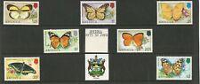 ANTIGUA 1975 Butterflies set of 7 SG449/55 MNH