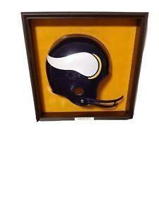 minnesota vikings helmet plaque