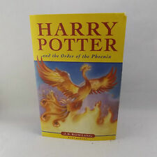 Harry Potter and The Order of the Pheonix J.K.Rowling Paperback 2005 Book 5
