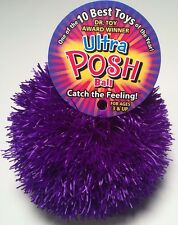 ULTRA POSH BALL Toy LATEX FREE Rubber Therapy Stress Relax Treasure Bay NEW NWT