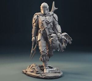 3D printed Mandalorian + worldwide Free Shipping