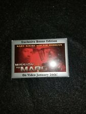 Touchstone Pictures Mission To Mars (The movie ) 2000 pin back  * New