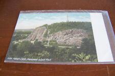Rare Vintage Antique Postcard  Connecticut New Haven Monument and East Rock Face