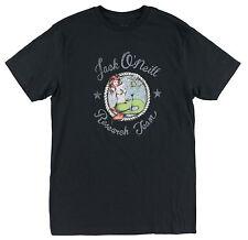 O'Neill BOAT DRINKS Mens Short Sleeve T-Shirt Black Medium NEW