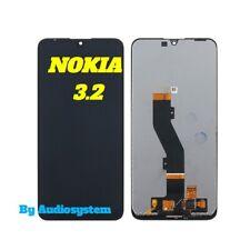 DISPLAY LCD TOUCH SCREEN NOKIA per 3.2 TA-1154 1156 1159 1161 1164 SCHERMO VETRO