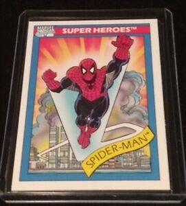 1990 Impel Marvel Universe Series 1 Super Heroes #30 Cosmic Spider-Man