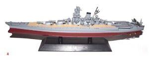 Musashi battleship War ship Japan WWII 1:1100 Ixo Eaglemoss diecast