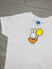 New Imperfect Embroidered Girls Boys T-shirt Top 2T Rabbit and Balloon