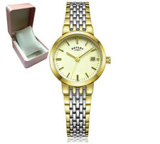 ROTARY LB03497/03  Ladies Gold Silver 2 Tone Champagne Bracelet WATCH RRP£70