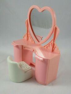 Playskool Dollhouse Pink Vanity & Chair Doll House