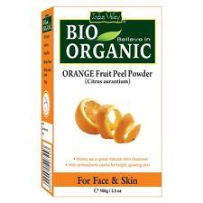 Indus valley bio organic Orange fruit peel powder for healthy & glowing skin